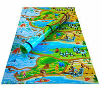 Детский развивающий коврик Мадагаскар 150х120см
