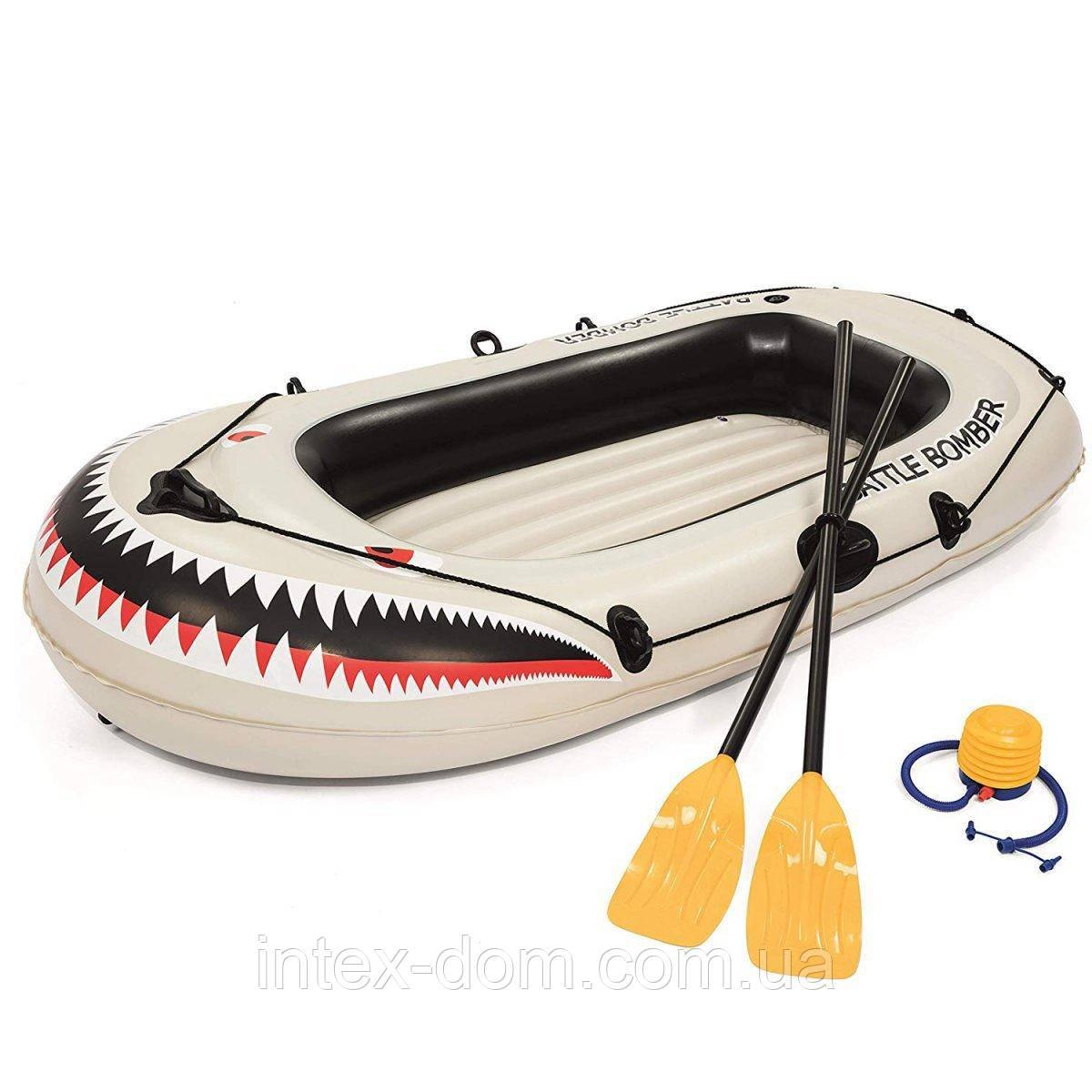 Полутораместная надувная лодка Bestway 61108