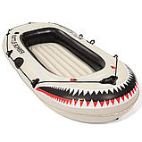 Полутораместная надувная лодка Bestway 61108 , фото 4
