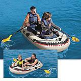 Полутораместная надувная лодка Bestway 61108 , фото 8