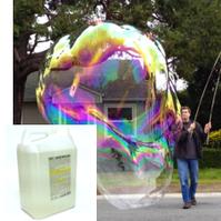 Жидкость для генератора ГИГАНСКИХ мыльных пузырей GIGANT BUBBLE, 5литров