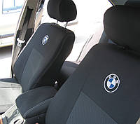 Чехлы в салон БМВ 3 - Чехлы для сидений Оригинальные Bmw 3 Series (E46) дел. c 1998-2006 г (Elegant)