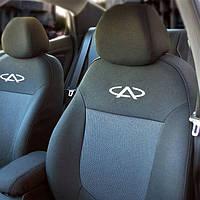 Чехлы в салон Чери М11 - Чехлы для сидений Оригинальные Chery M11 Sedan (A3) с 2008 г (Elegant)