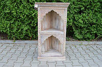 Indyjska drewniana biblioteczka, фото 1
