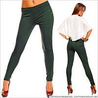 Темно-зеленые штаны