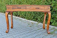 Indyjska drewniana konsola, фото 1