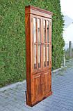 Indyjska drewniana witryna narożna, фото 4