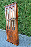 Indyjska drewniana witryna narożna, фото 5