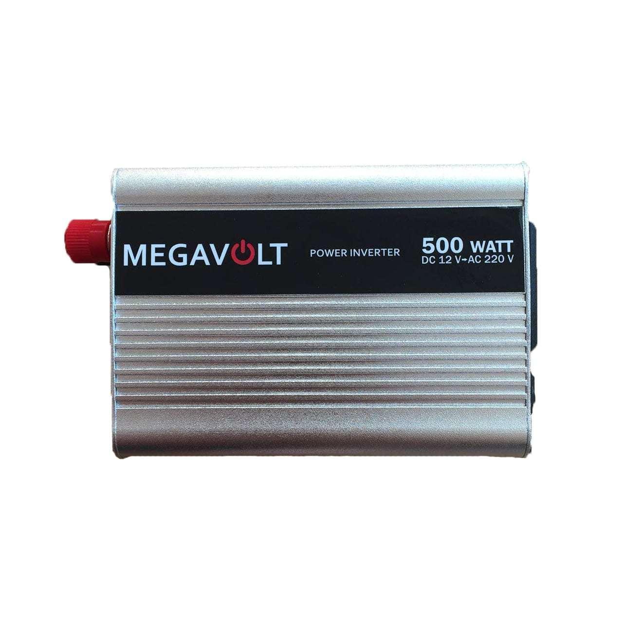 Преобразователь напряжения 12v-220v 500W MEGAVOLT