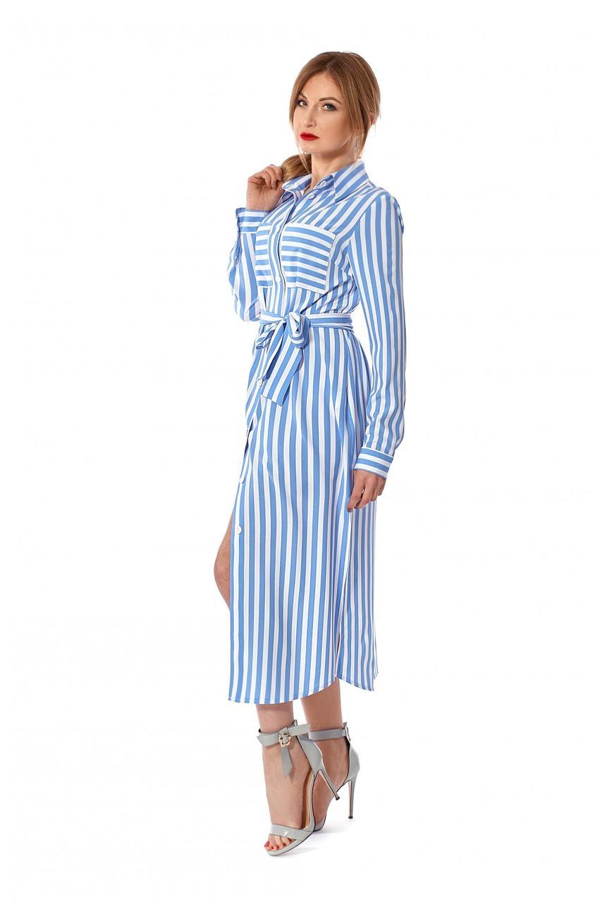 Легкое платье - рубашка