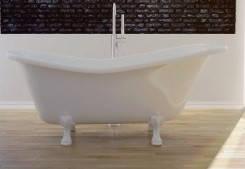 Ванна ретро OTYLIA 160х77 Besco з білими ніжками