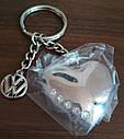 Оригинальный брелок для ключей Volkswagen Keyring Heart with Swarovski Crystals (33D087010A), фото 3