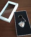 Оригинальный брелок для ключей Volkswagen Keyring Heart with Swarovski Crystals (33D087010A), фото 2
