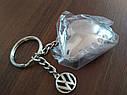 Оригинальный брелок для ключей Volkswagen Keyring Heart with Swarovski Crystals (33D087010A), фото 4