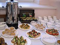 Кофе-брейк «Бизнес» (с обедом) (фуршет) и ДРУГИЕ БАНКЕТНЫЕ услуги от шефа Петровича