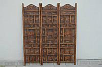 Indyjski drewniany parawan
