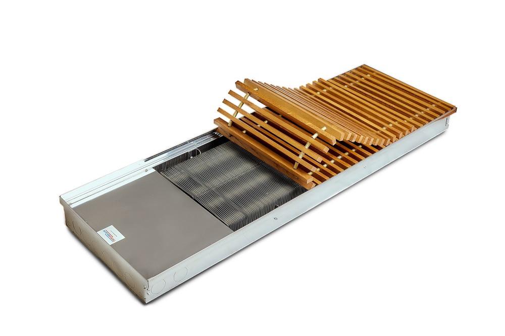 Внутрипольный конвектор TeploBrain DSE 380 (B; L; H) 380.1500.125