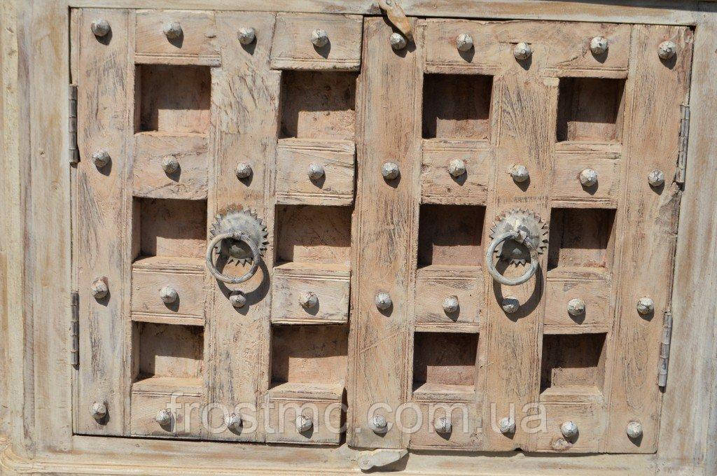 Indyjska drewniana komoda rtv