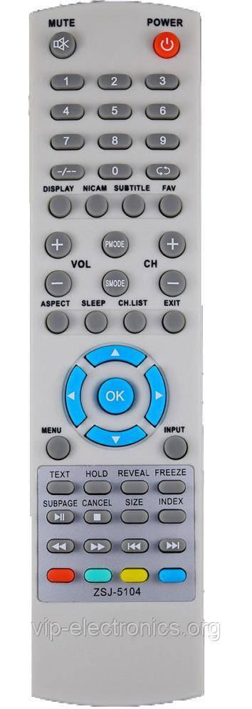 Пульт  BRAVIS ZSJ-5104 TV,LCD,LED (CE)