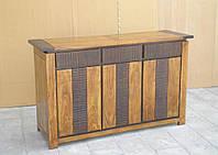 Indyjska drewniana komoda, фото 1