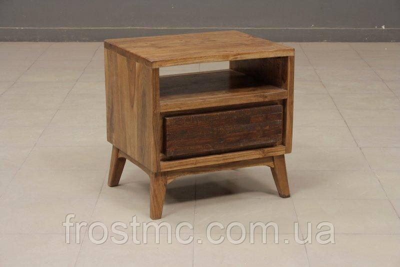 Indyjska drewniana szafka nocna