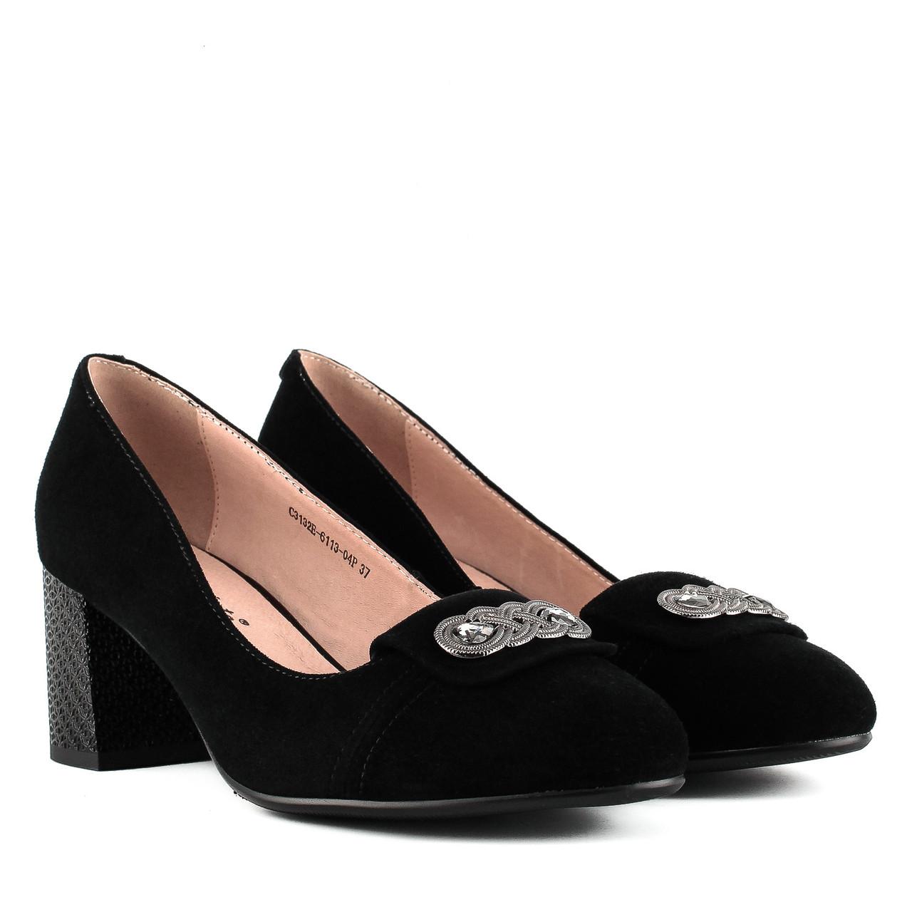 38dbbf5af Купить Туфли женские BELLAVISTA (замшевые, на каблуке, натуральные ...