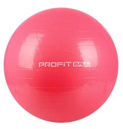 Мяч для фитнеса (фитбол) 75 см Profi MS 0383 коралловый