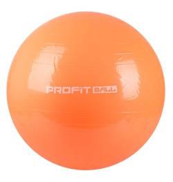 Мяч для фитнеса (фитбол) 75 см Profi MS 0383 оранжевый