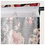 IKEA LEIKNY Гардини, 1 пара, чорний, різнобарвний (104.288.17), фото 3