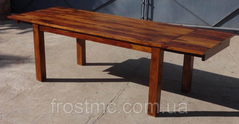 Indyjski drewniany stoł rozkładany