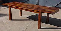 Indyjski drewniany stoł rozkładany, фото 1