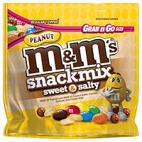 M&M's Peanut Snack Mix Sweet & Salty, 113 г