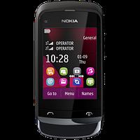 Мобильный телефон Nokia C2-03 Chrome Black, фото 6