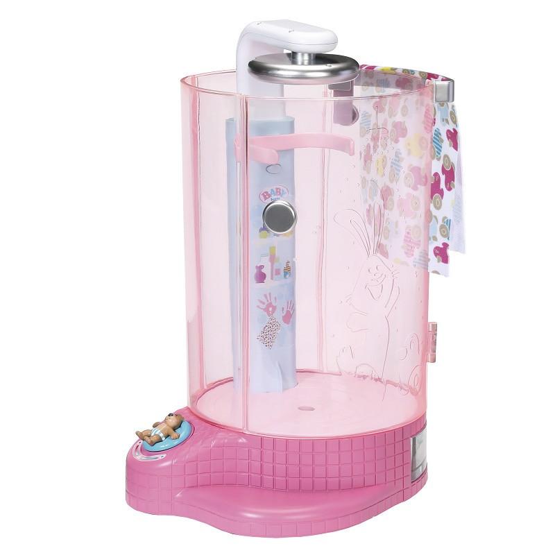 Автоматическая душевая кабинка для куклы Baby Born Веселое купание с аксессуаром (823583)