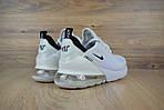 Женские кроссовки Nike Air Max 270 (SIN) белые, фото 7