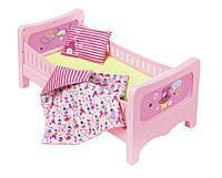 Кроватка для куклы Zapf Baby Born - Сладкие сны с постельным набором (824399), фото 1