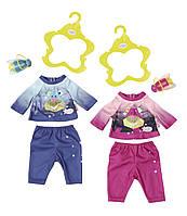 Набор одежды для куклы Zapf Baby Born - Вечерняя прогулка в ассортименте (824818), фото 1