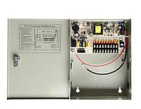 ИБП UPS в металлическом ящике AKV-UPS-101, 9-кан 12В 10А