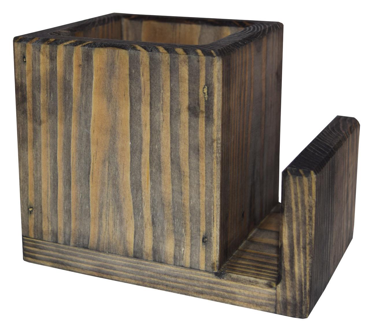 Подставка под столовые приборы  Пранзо  контейнер для ложек и вилок  цвет - морион