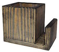 Подставка под столовые приборы  Пранзо  контейнер для ложек и вилок  цвет - морион, фото 1