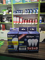 Светодиодная лампа (энергосберегающая) ІСКРА LED A60 10W 4000K E27