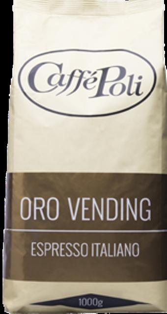Кофе Caffe Poli Oro Vending в зернах 1 кг