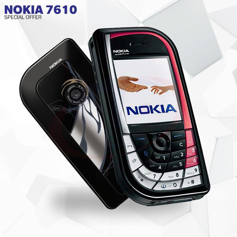 Мобильный телефон Nokia 7610 Black/Red