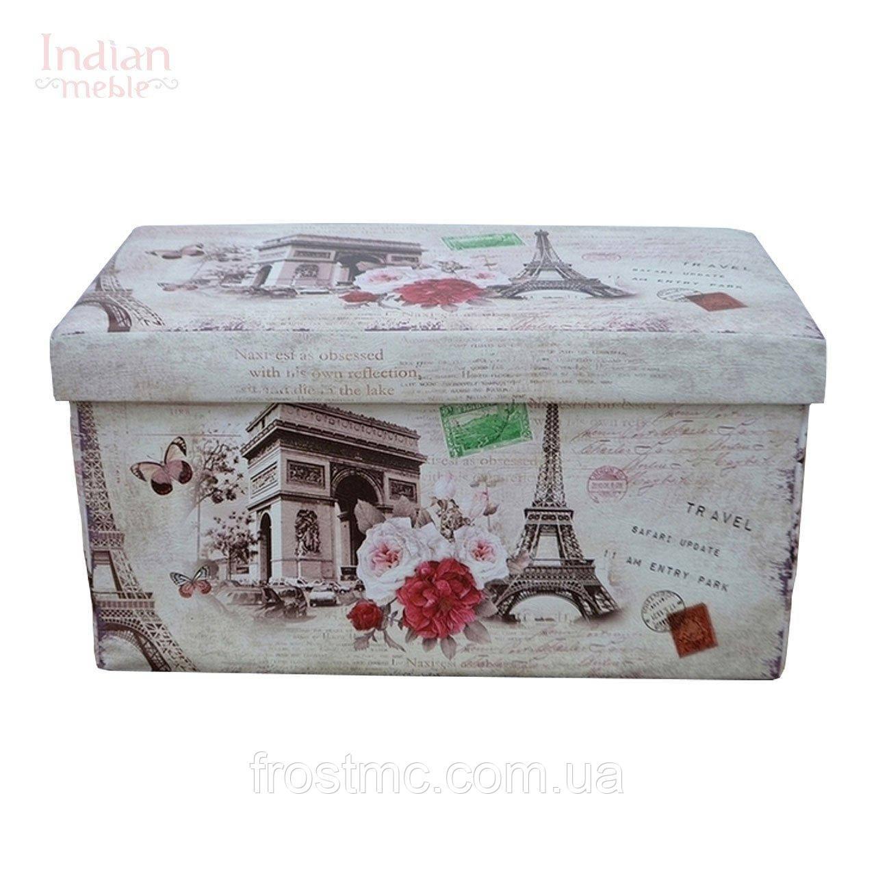 Велика скриня декоративна - PARIS