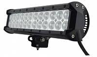 Дополнительные светодиодные противотуманные LED фары 1шт D 54W 230*100*65 ближнего света LED-фары