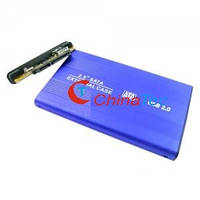 """USB 2.0 карман для жёстких дисков 2.5"""" SATA чёрный"""