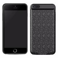 Чехол-аккумулятор Baseus Plaid Backpack 7300mAh черный для iPhone 7 Plus/8 Plus