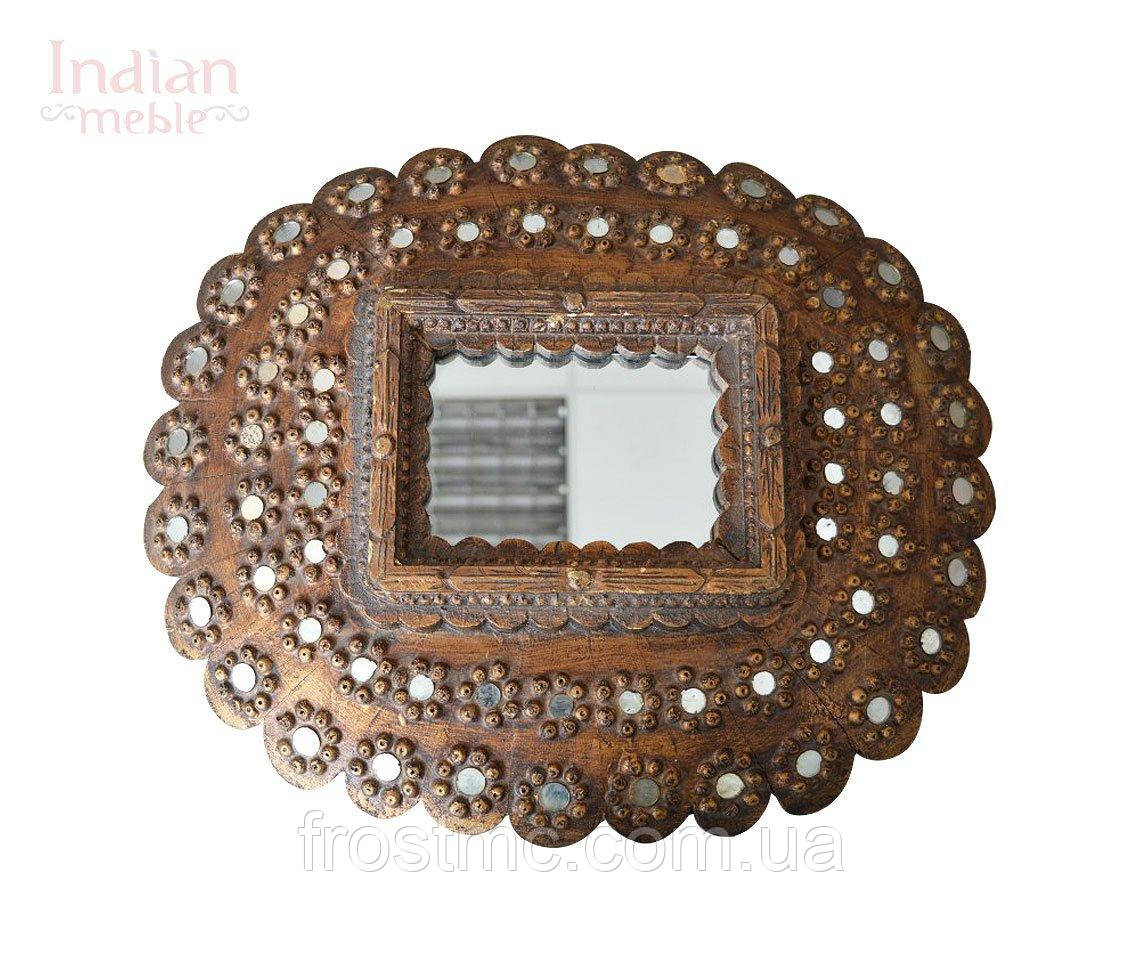 Індійське дерев'яне дзеркало