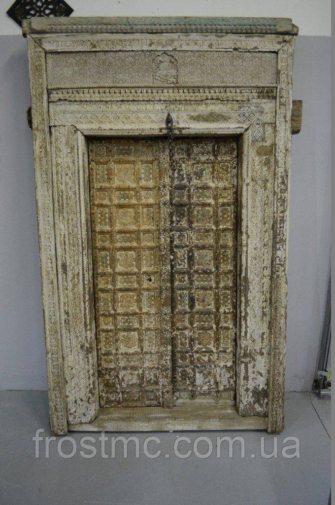 Індійські дерев'яні двері дороге оздоблення