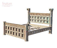 Індійське дерев'яне ліжко, фото 1